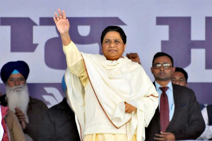 Mayawati visited Noida four times in her tenures as CM, but lost power after each visit.