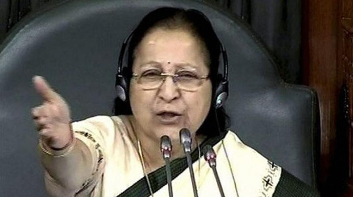 as Lok Sabha speaker, she has lacked the political heft to hold the House together.