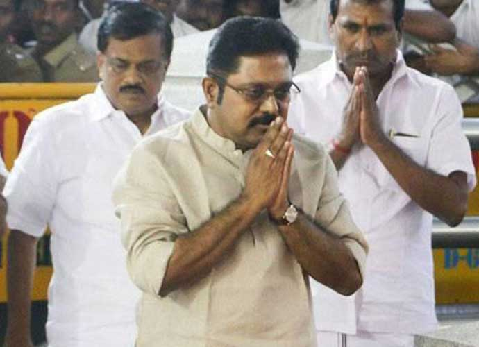 TTV Dhinakaran's popularity is another cause of concern for the AIADMK.