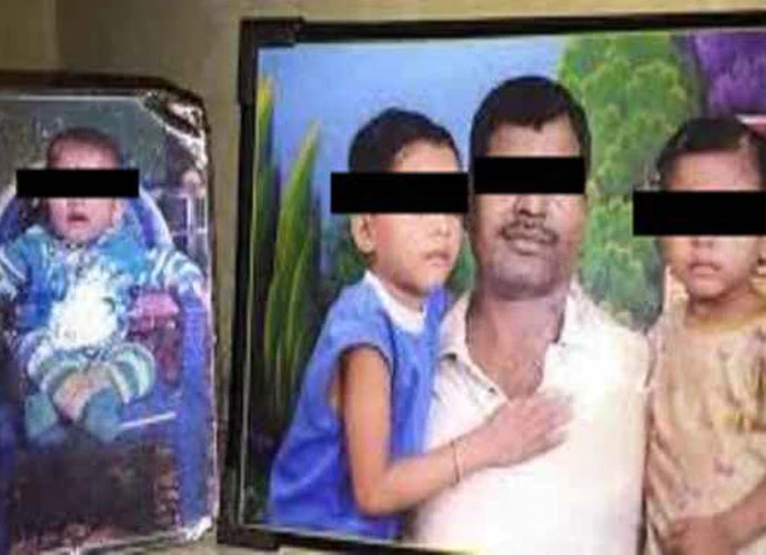 In July, three girls, aged eight, four and two, died in Delhi because they did not get anything to eat.