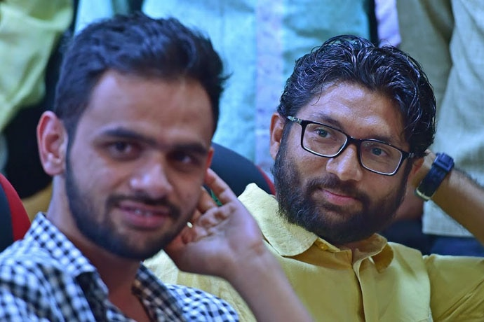 "An FIR was also registered against Gujarat MLA Jignesh Mevani and JNU student Umar Khalid, both speakers at the Elgar Parishad, ""communal disharmony"" through their ""provocative speeches""."