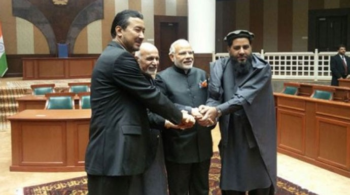Prime Minister Modi also visited Afghanistan twice, first to inaugurate the new building of the Afghan Parliament in December 2015