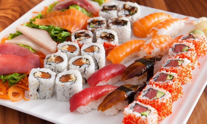 Fresh and light, sushi is bursting with nutrition
