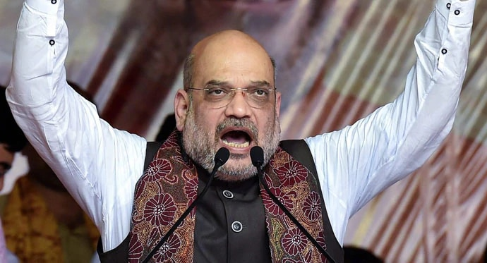 Amit Shah threatened to pull down an elected government, as well as saying S