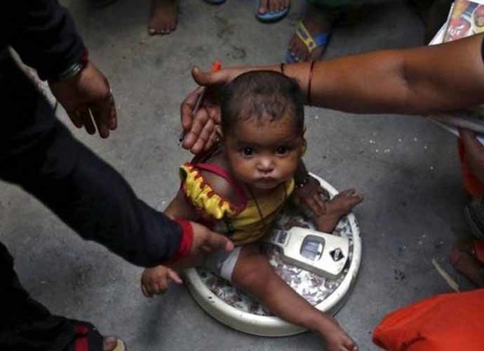 Even without international reports, we know million of children in India are malnourished.