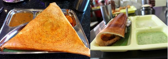 Never the twain shall meet: There are sharp divisions between fans of the Chennai dosa and the Bangalore dosa. (Photo: DailyO)