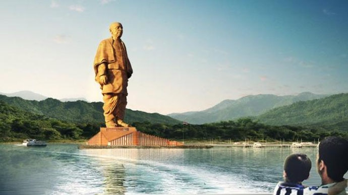 The statue was built on the land of farmers and tribals, but they can hardly afford a visit to it — ticket prices start at Rs 120.
