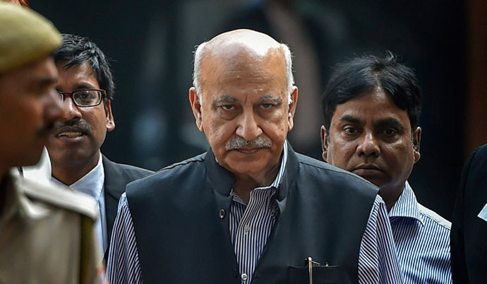 MJ Akbar has been hit by a series of serious charges.