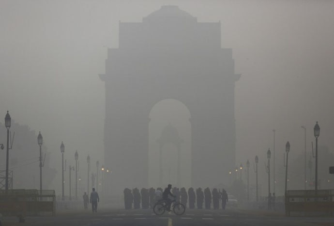 In Delhi, PM 2.5 levels have regularly reached levels 48-50 times the WHO standards.