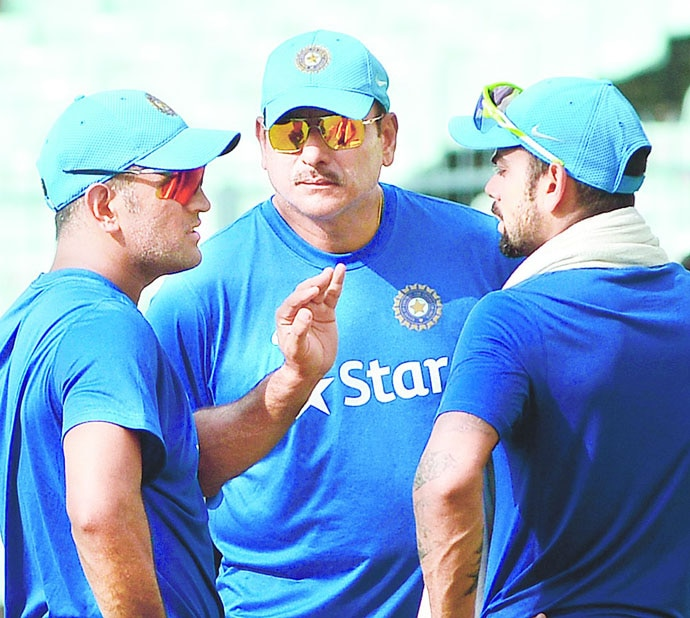Dhoni's calming influence on the maturing-yet-hot-headed Kohli, and the equally impetuous coach Ravi Shastri, cannot be overstated.