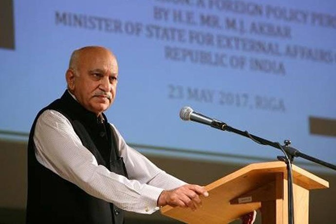 MJ Akbar was famous for his speeches and arguments.