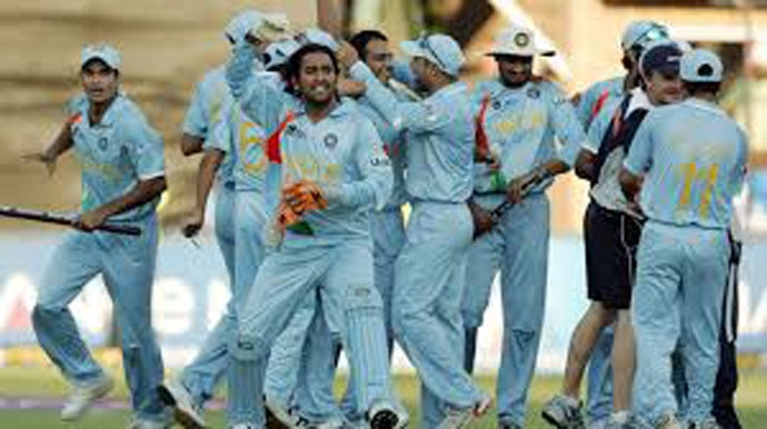 captained a young Indian side to victory in the first edition of the T20 World Cup in 2007