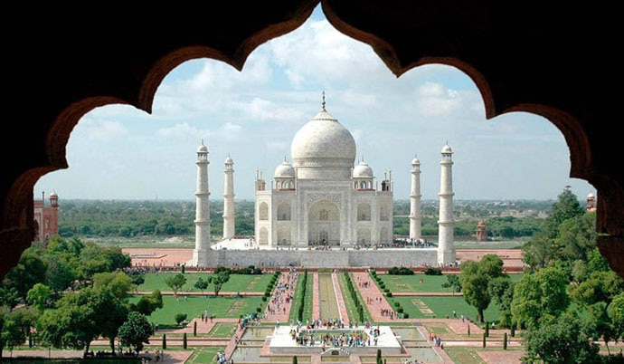 The world-famous Taj Mahal of Agra (or is that Agrawal?)