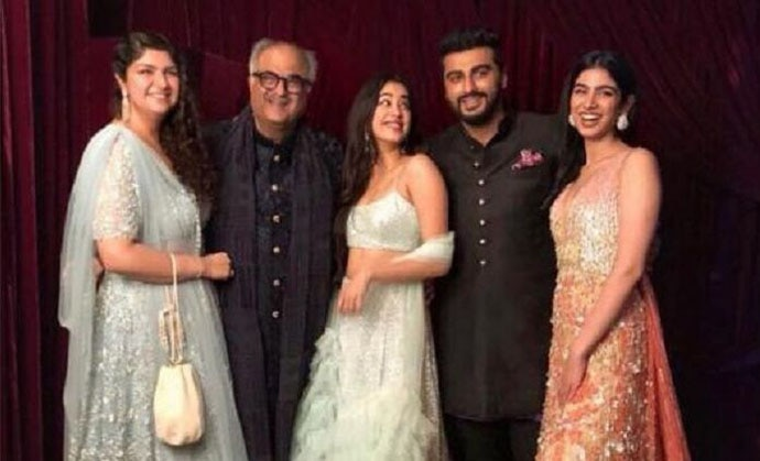 When we see an Arjun Kapoor with Sridevi's Janhvi, we also remember Sunny Deol's studied indifference to his half-sisters.