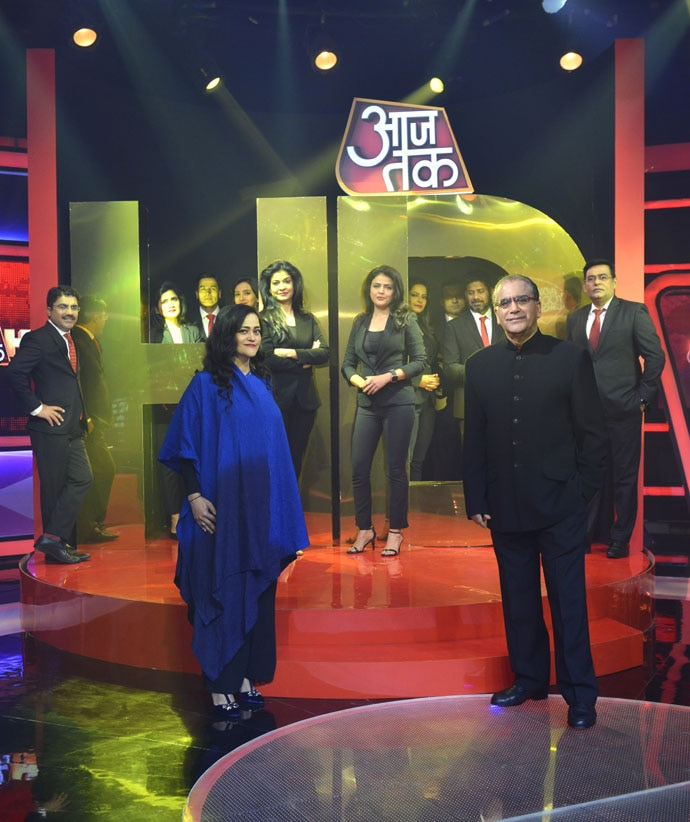 Aaj Tak HD will be offered exclusively on Tata Sky in India initially, and eventually will become available on other platforms.