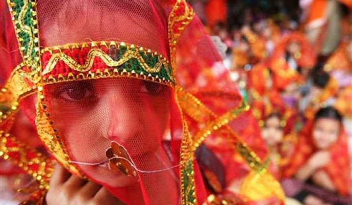 The rate of child marriages in Rajasthan, according to National Commission for Protection of Child Rights, is higher than the national average