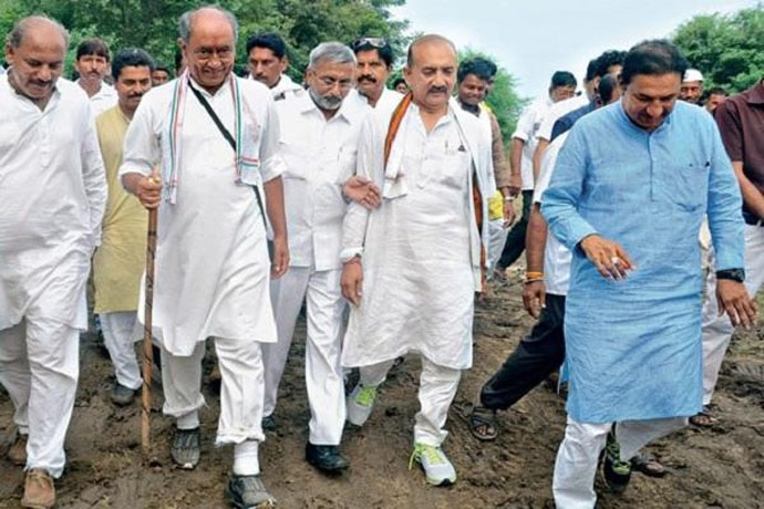 Before of the Assembly polls, Digvijaya had conducted a 192-day-3325-km long Narmada Parikarma yatra.