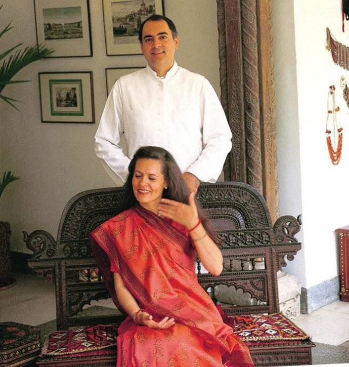 Rajiv Gandhi's 'Indian-ness' was never questioned for marrying a foreigner.