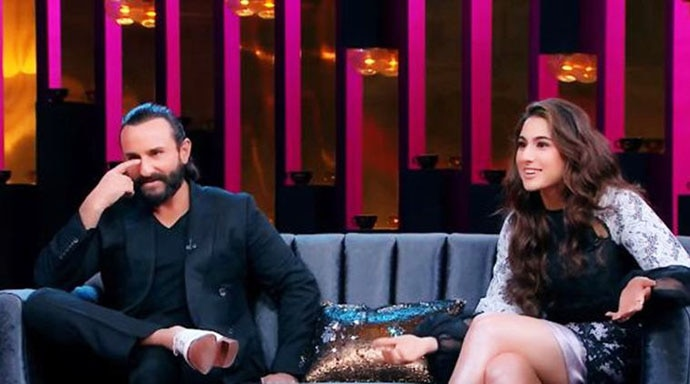 Sara Ali Khan talked about struggling with PCOS on Koffee With Karan.
