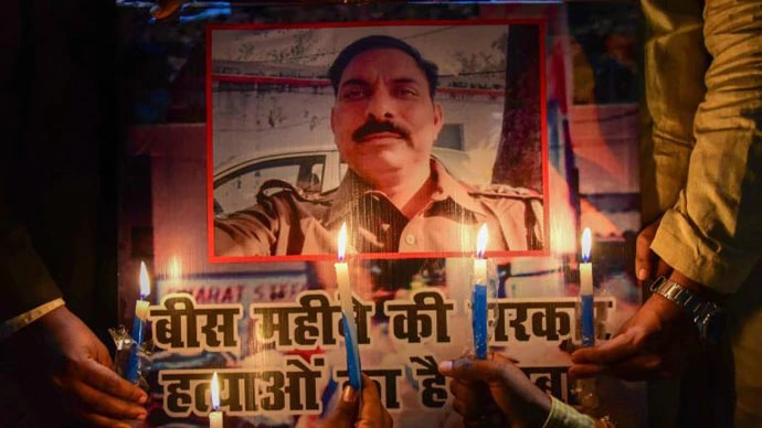 Killed in the line of duty. (Photo: PTI)