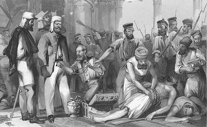 Image result for BRITISH LOOT DELHI