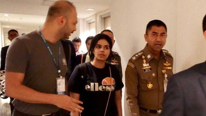 Rahaf had the guts to escape captivity. But then, she also had the desire to do so