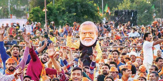 Youth had played a big part in ensuring Modi's thumping victory in 2014.