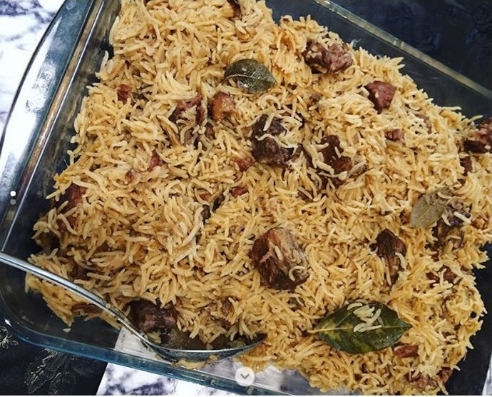 The Rampuris love their yakhni pulao