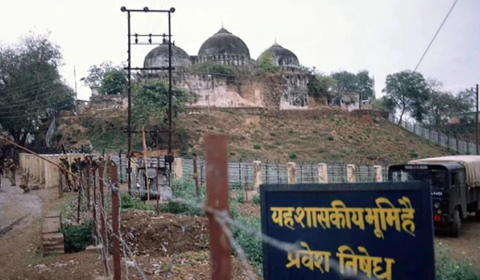 The government has asked the SC for the 67 acres of undisputed land near the Babri Masjid demolition site.