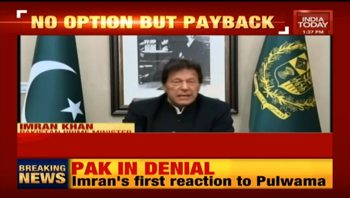 Imran Khan in denial over Pulwama attacks - a waste of video
