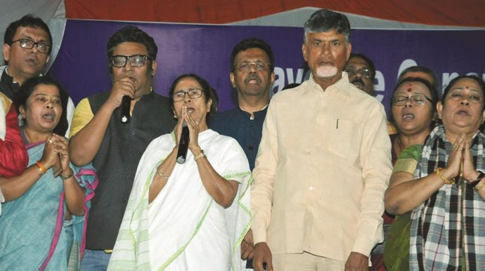 Didi called off her dharna only after almost 46 hours