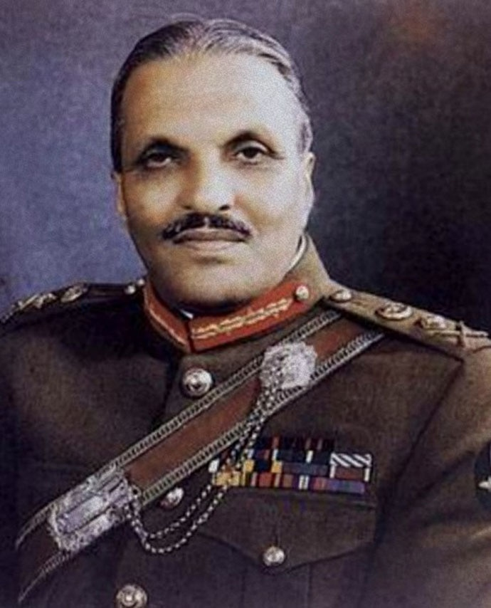 General Zia: A reminder of the damages that one man can do.