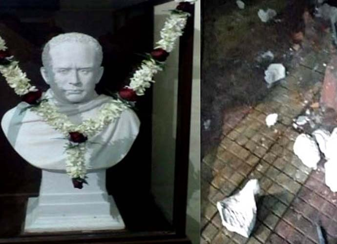 Ever Wonder Where That Iconic Bust Of >> Far From Busted Right Wing Goons Vandalized Ishwarchandra