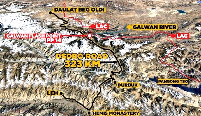 DailyOh! How Indian soldiers fought China in Galwan Valley on ...