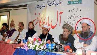 Will Imran Khan now explain why his minister was sharing the stage with Hafiz Saeed?