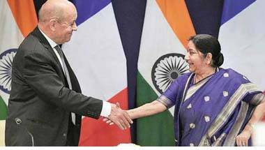 Why an 'R' word can never come between India and France