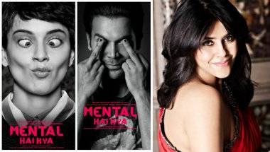 Dear Ekta Kapoor, please change your movie title from 'Mental Hai Kya' to something that doesn't mock those suffering stigma and agony