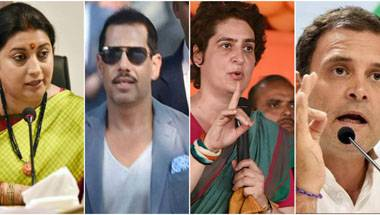 50 Degrees! Why Robert Vadra vs Smriti Irani's social media fight is only hotting up Amethi some more!