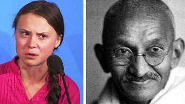 How Greta Thunberg is echoing Mahatma Gandhi's views on environment
