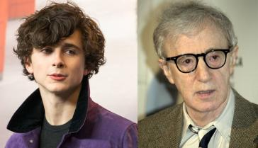 Timothée Chalamet hammers another nail into the coffin of Woody Allen's career