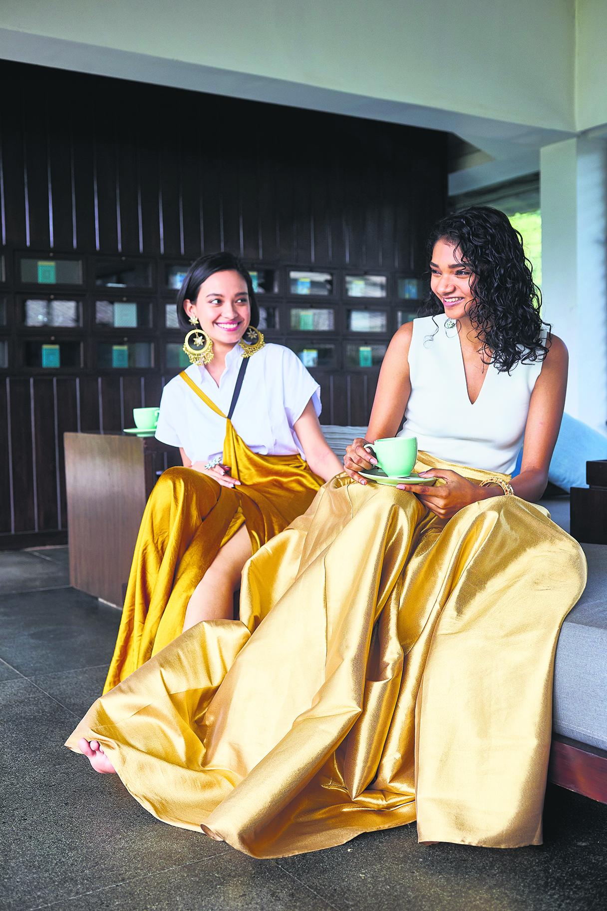 SVA by Sonam & Paras Modi Skirt
