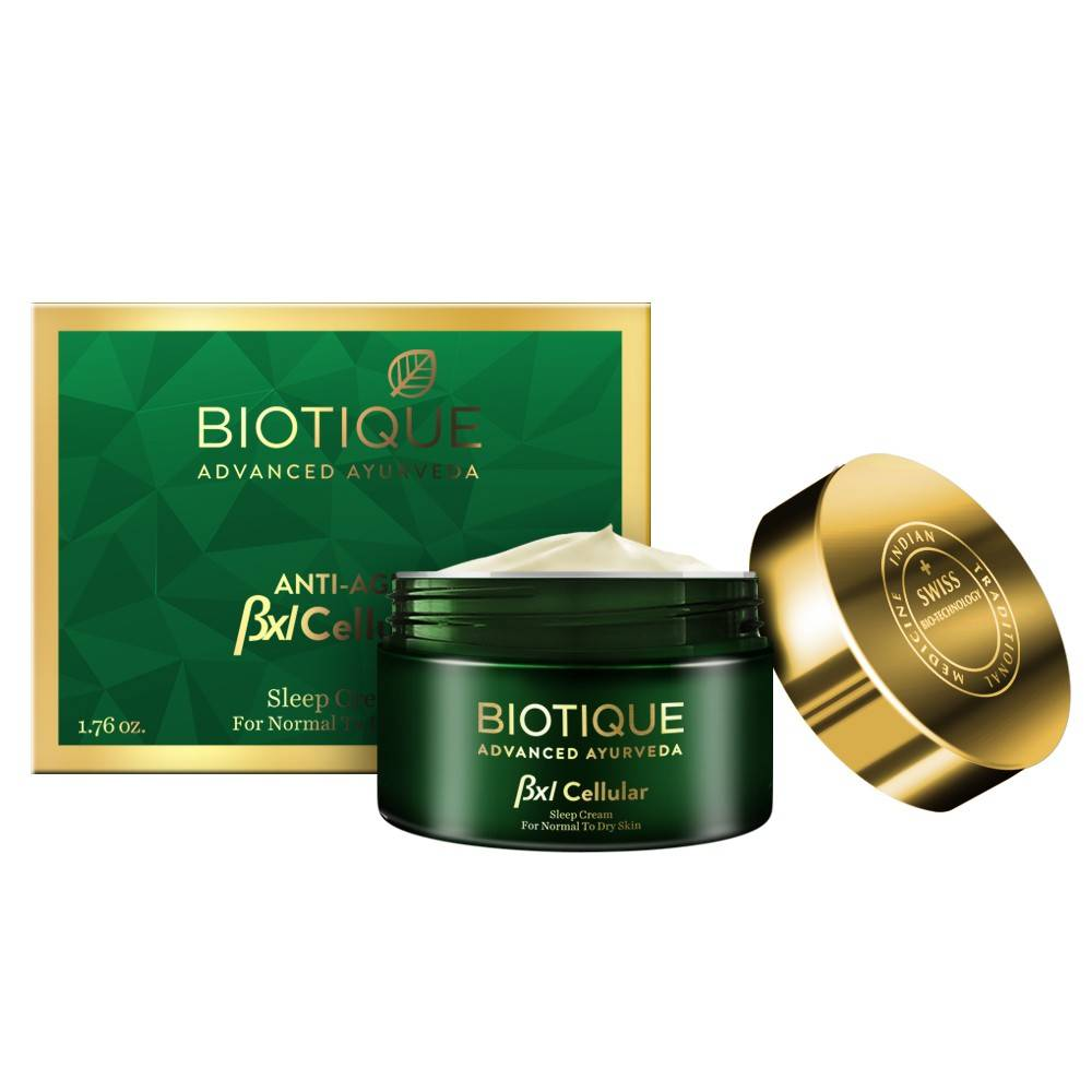 BIOTIQUE BXL Cellular Sleep Cream, Rs. 999