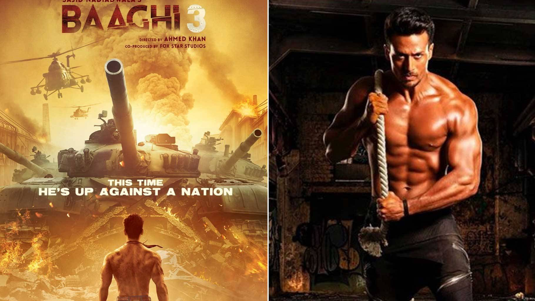 Image result for Baaghi 3 promises 3 times more action from Tiger Shroff""