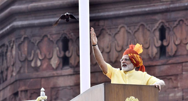 modi, speech, red fort