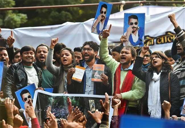 jignesh rally delhi