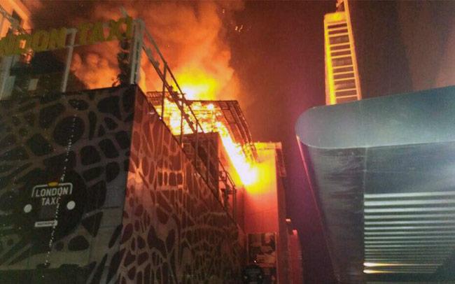 kamla mills, mumbai, fire