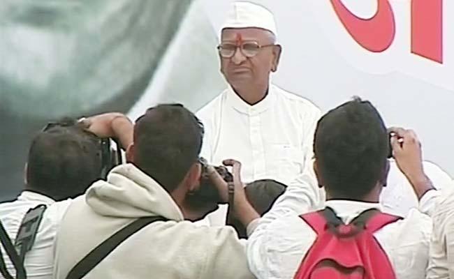 Anna Hazare, Protest, lokpal