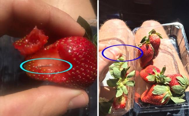 स्ट्रॉबेरी, ऑस्ट्रेलिया, सुई, मजाक, पुलिस