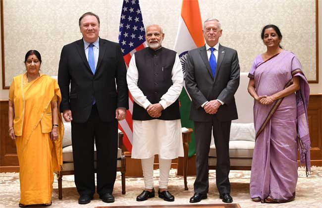 indo-US two plus two dialouge