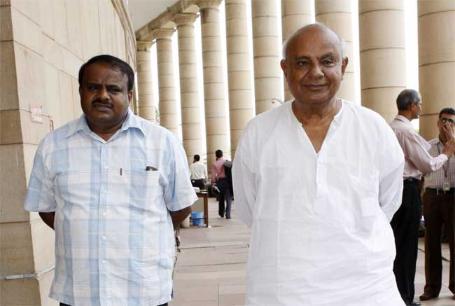 hd kumaraswamy, hd devegowda